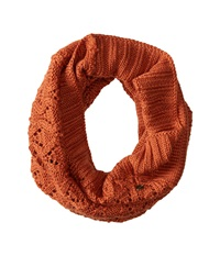 Roxy Cuddle Knit Infinity Scarf Ginger Bread Scarves Tan