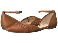 Isola Cellino Luggage Sturdy Brown Oyster Cow Quilin Women's Flat Shoes