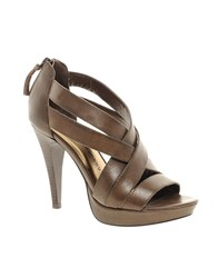 Chinese Laundry Lavine Heeled Sandals Brown