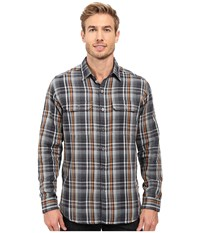 Kuhl Shatterd Long Sleeve Shirt Midnight Fuzion Men's Long Sleeve Button Up Multi