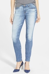 Big Star 'Brigette' Straight Leg Jeans Blue