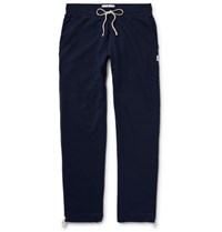 Reigning Champ Loopback Cotton Jersey Sweatpants Navy