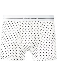 Dolce And Gabbana Underwear Classic Boxers White