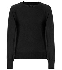 A.P.C. Stirling Cashmere Sweater Black