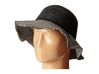 San Diego Hat Company Cth4121 Chenille Crown With Herringbone Fabric Floppy Brim Black Caps