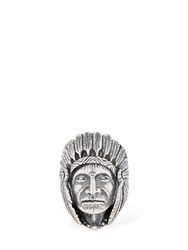 Cantini Mc Firenze Great Indian Head Ring Silver
