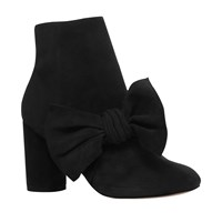 Kg By Kurt Geiger Rattle Bow Ankle Boots Black