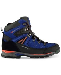 Karrimor Hot Rock Waterproof Mid Hiking Boots From Eastern Mountain Sports Blue
