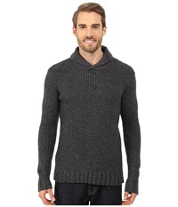 Prana Onyx Sweater Charcoal Men's Sweater Gray