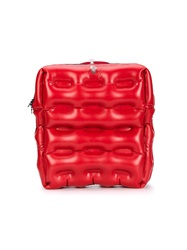 Christopher Raeburn Inflatable Backpack Red