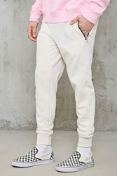 Forever 21 Slim Fit Zippered Sweatpants