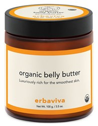 Erbaviva Carrot Seed And Cocoa Butter Organic Belly Butter 3.5 Oz. No Color