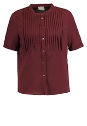 Vero Moda Vmsasha Shirt Decadent Chocolate Dark Brown
