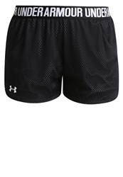 Under Armour Play Up Sports Shorts Black White