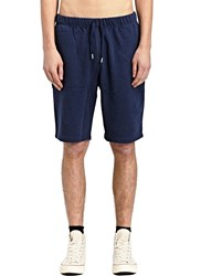 Sunspel Loopback Shorts Navy