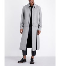 Wooyoungmi Wool And Mohair Coat Black