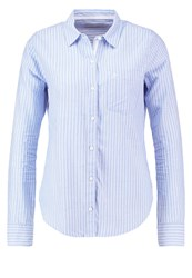 Abercrombie And Fitch Shirt White Blue Light Blue