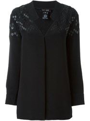 Jay Ahr Patterned Blouse Black