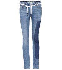 Off White Exclusive To Mytheresa.Com Vintage Skinny Jeans Blue