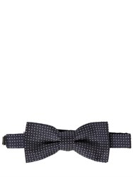 Dsquared Polka Dot Silk Jacquard Bow Tie