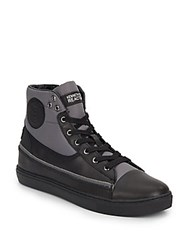 Kenneth Cole Reaction Done For High Top Sneakers Black