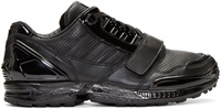 Black Leather Low Top Adidas By Juun.J Sneakers
