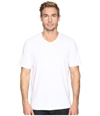 Tommy Bahama Portside Player V Neck Tee White Men's Short Sleeve Pullover
