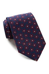 Alara Silk Allover Stars Tie Blue