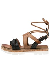 Mjus Sunrise Platform Sandals Nero Black
