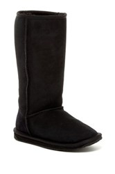 Emu Stinger Genuine Sheep Fur Boot Black
