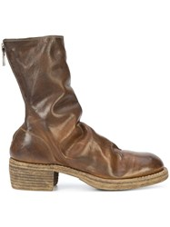 Guidi Rear Zipped Fitted Boots Unavailable