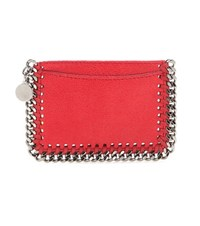 Stella Mccartney Falabella Card Holder Red