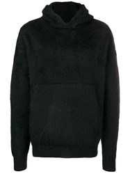 Laneus Hooded Sweatshirt Black
