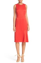 Grey Jason Wu Women's Twist Back Satin Dress