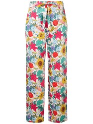 Baum Und Pferdgarten National Bloom Print Trousers Multicolour