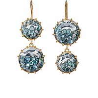 Renee Lewis Women's Shake Double Drop Earrings No Color