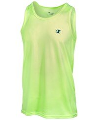 Champion Men's Vapor Heathered Tank Top Highlighter