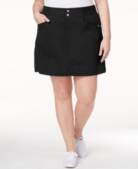 Styleandco. Style And Co. Plus Size Skort Only At Macy's Deep Black