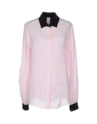Uniqueness Shirts Shirts Women Pink