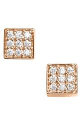 Ginette_Ny Women's Ginette Ny Mini Diamond Ever Stud Earrings