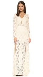 Nightcap Clothing Jirapa Lace Maxi Dress Ivory