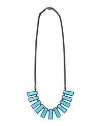 Kendra Scott Angelina Turquoise Magnesite Bib Necklace