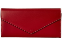 Lodis Audrey Alix Trifold Red Black Wallet Handbags