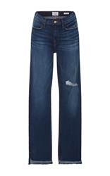 Frame Denim Le High Straight Leg Jeans Medium Wash
