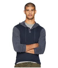 Rvca Pick Up Hooded Knit New Navy Clothing