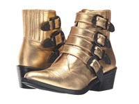 Toga Pulla Aj006 Metallic Gold Limited Edition Women's Shoes
