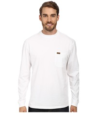 Pendleton L S Deschutes Tee White Men's Long Sleeve Pullover