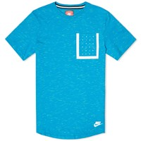 Nike Bonded Pocket Tee Blue