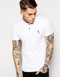 Religion Jersey Polo Shirt White