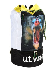 U.T. Wave Backpacks And Fanny Packs White